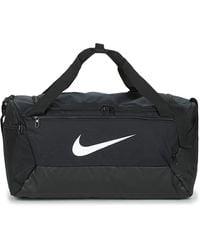 Nike Sac de sport de training Brasilia (petite taille) - Noir