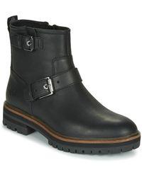 Timberland LONDON SQUARE BIKER femmes Boots en Noir