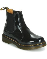 Dr. Martens Bottines vernies 1460 W - Noir