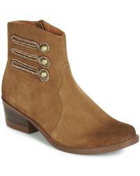 Mam'Zelle Boots - Marron