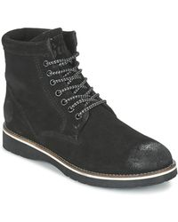 Superdry Boots - Noir