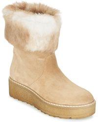Nome Footwear MOVETTA femmes Boots en Beige - Neutre