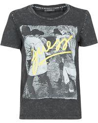 Guess SS CN PAULA TEE T-shirt - Noir