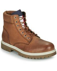 Tommy Hilfiger OUTDOOR NUBUCK BOOT hommes Boots en Marron
