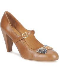 Maloles Chaussures escarpins CLARITA - Marron