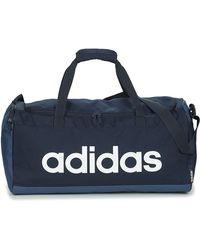adidas Sac de sport LIN DUFFLE M - Bleu