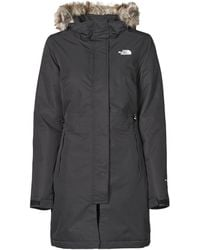 The North Face W RECYCLED ZANECK PARKA Parka - Noir