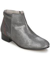 Alba Moda Boots - Métallisé