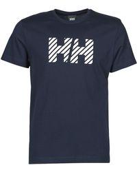 Helly Hansen SMQ Life Tee T-shirt - Bleu