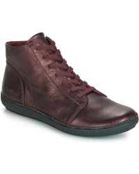 Kickers - FOWTOW femmes Boots en violet - Lyst