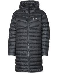 Nike W NSW WR LT WT DWN PARKA Doudounes - Noir
