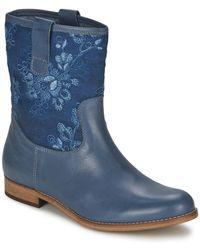 Alba Moda Boots FALINA - Bleu