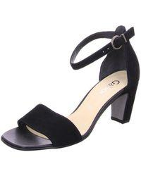 Gabor Heeled Sandals - Black