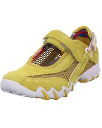 Allrounder By Mephisto Trainers - Yellow