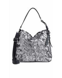 Liebeskind Berlin Bags Fritzi Aus Preußen Handbags Grey Idalia 0054 - Gray
