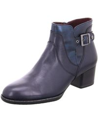 Tamaris Wo Ankle Boots Blue 1-1-25361-23/805