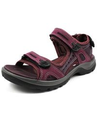 Ecco Wo Hiking Sandals Red Offroad Aub 06956351343