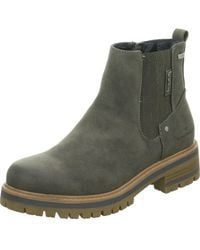 Tom Tailor Wo Ankle Boots Grey Coal 7990004 - Gray