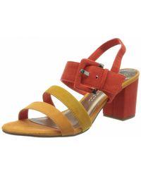 Marco Tozzi Strap Sandals Multi-coloured Da.-sandalette - Multicolour