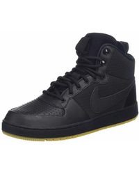 Nike Ebernon Mid Se Athletic Shoe - Black