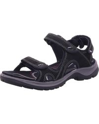 Ecco Wo Hiking Sandals Black Offroad 822123/01001