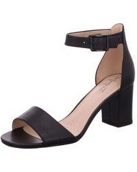 Clarks Heeled Sandals - Black