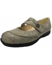 Finn Comfort - Wo Ballerina Shoes Metallic Vivero 2353598416 - Lyst