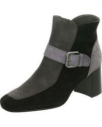 43e3ea5d1fc Wo Ankle Boots Black Schwarz/fumo Carbon/suede 94661-727
