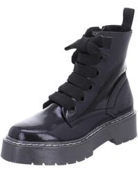 Tom Tailor Wo Lace-up Boots Black Boots 7996401 Black