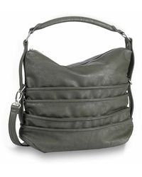 Liebeskind Berlin Bags Fritzi Aus Preußen Handbags Grey Redding 0254 - Gray