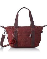 Kipling Bags Handbags Red K01327 Art Mini Burnt Carmine K0132747f