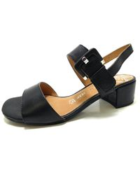 Marco Tozzi Heeled Sandals - Black