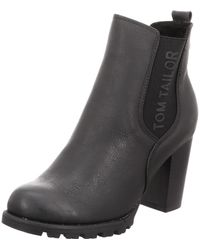 Tom Tailor Wo Ankle Boots Black Stiefellette 7990204 Black