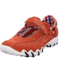 Allrounder By Mephisto Comfort Slip-ons - Red