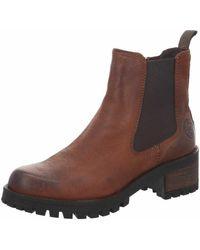 Black Chelsea Boot - Brown