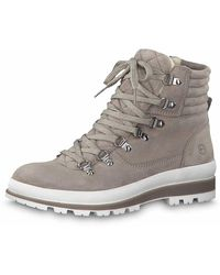 Tamaris Wo Lace-up Boots Grey Schnürboot Winter 11 26804 33 254 - Gray