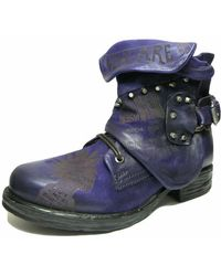 A.s.98 Wo Lace-up Boots Blue 259233-102-6872
