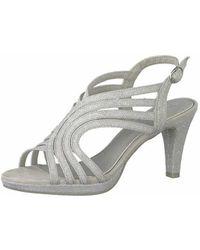 Marco Tozzi Strap Sandals Grey