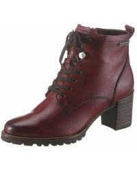 Tamaris Wo Lace-up Boots Red 1-1-25133-23 536