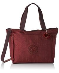 Kipling Bags Handbags Red K16659 N. Shopper L Burnt Carm K16659-47f