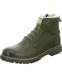 Dockers - Lace-up Boots Green Oliv 41bn107-120-840 - Lyst