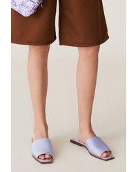 Ganni Slipper Sandals Violet Tulip - Multicolor