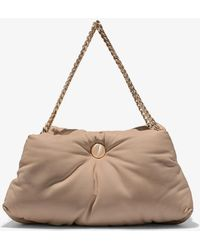 Proenza Schouler Puffy Chain Tobo Bag In Light Taupe - Multicolor