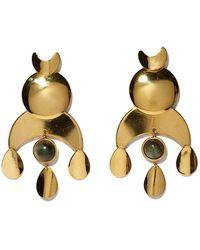 Lizzie Fortunato   Buddha Earrings   Lyst