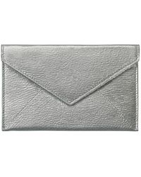 Graphic Image Silver Morocco Envelope - Metallic
