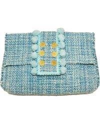 Kooreloo Pou Pouch Bag Capulet Aquamarine - Blue