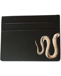 Alepel Serpent Black Cardholder