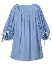 Lake Morning Dress - Blue