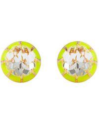 Lele Sadoughi - Canary Yellow 'spotlight' Earrings - Lyst