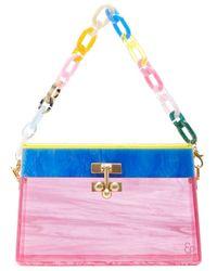 Edie Parker Miss Mini Rainbow Clutch - Multicolor